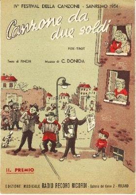 Canzone da due soldi da Pinchi e Donida (1954)