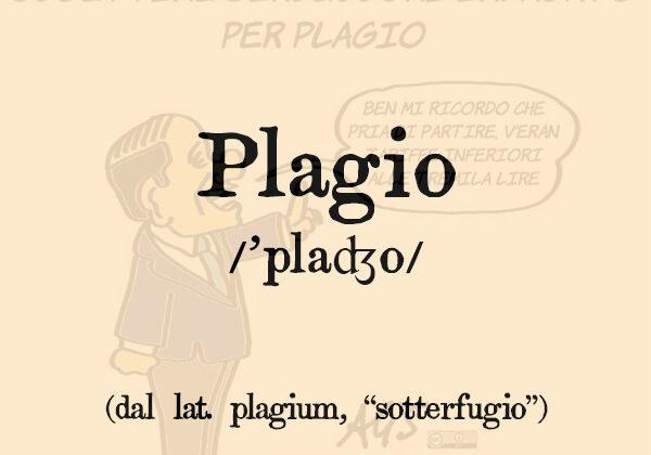 Plagio, s.m.