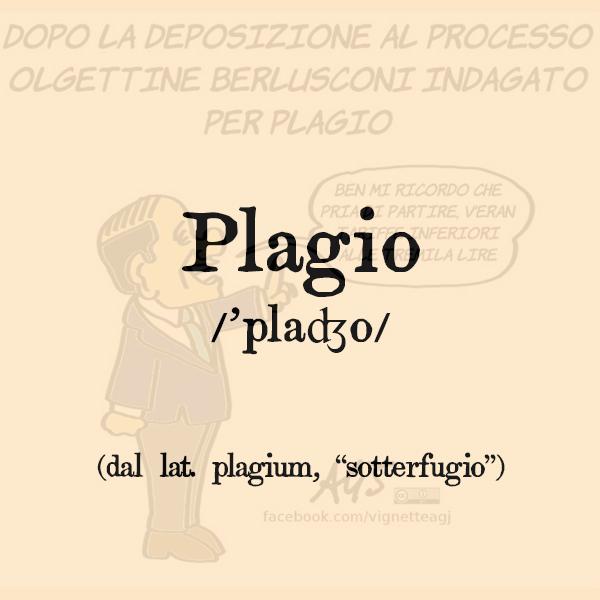 Etimologia di Plagio