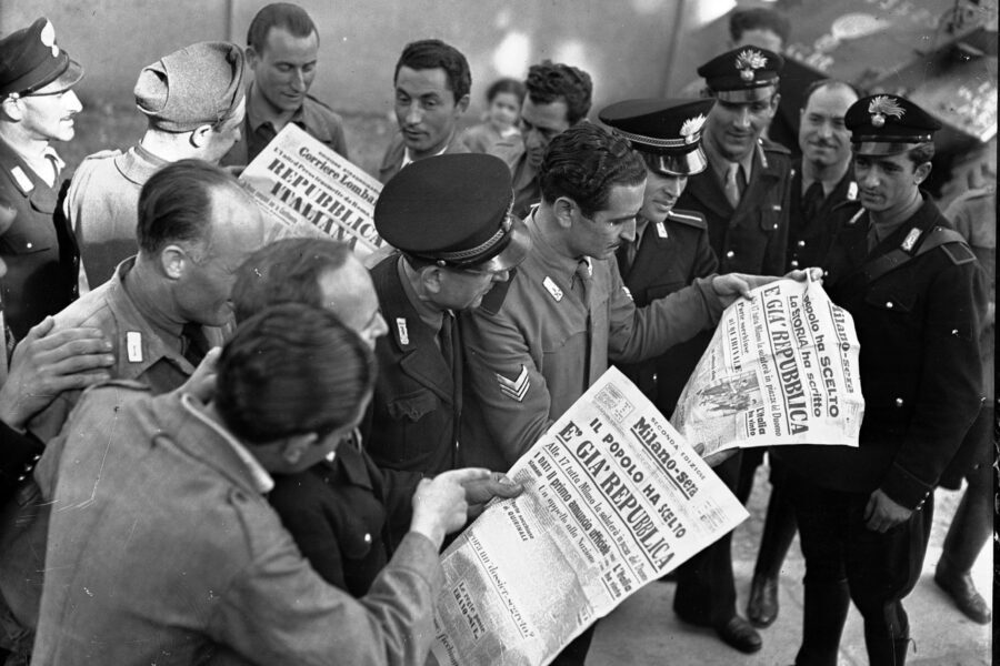 La prima Festa della Repubblica nel 1947