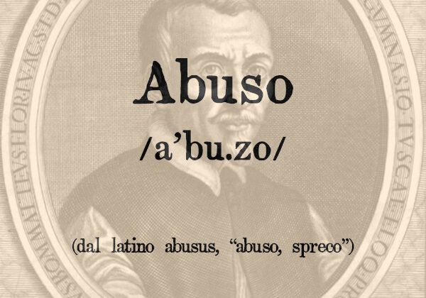 Abuso, s.m.