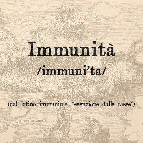 Immunità, s.f.