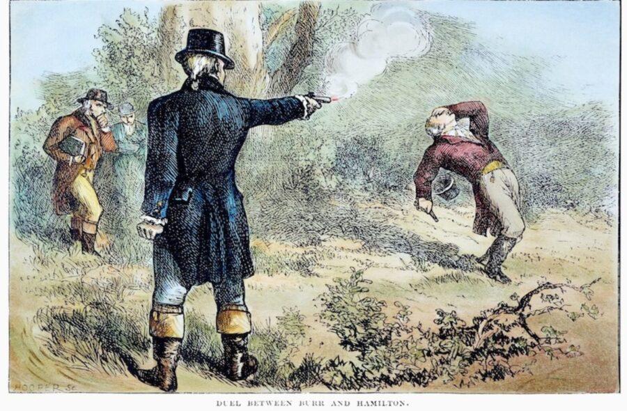 11 Luglio 1804 – Alexander Hamilton viene ferito mortalmente in duello