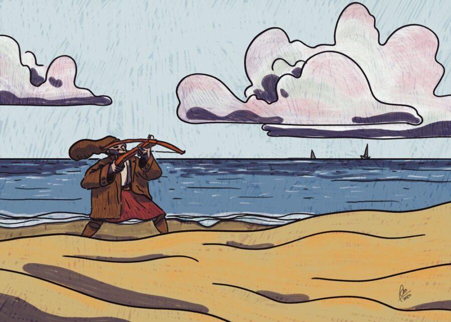 75. Spiaggia e balestre (1892)
