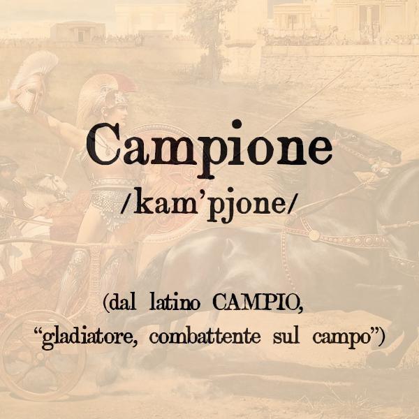 Etimologia di Campione