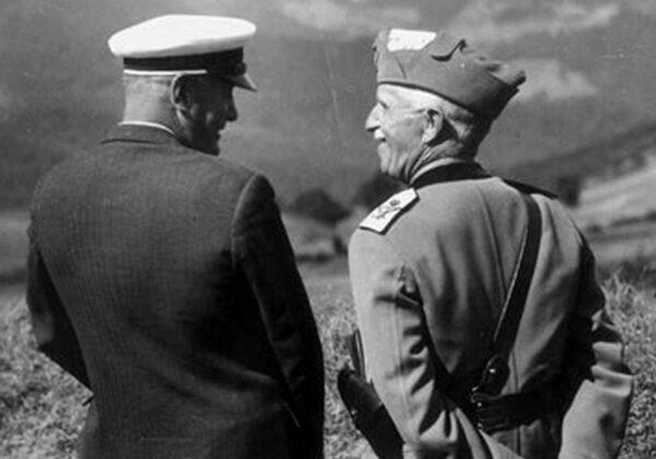 25 luglio 1943: l'arresto di Benito Mussolini