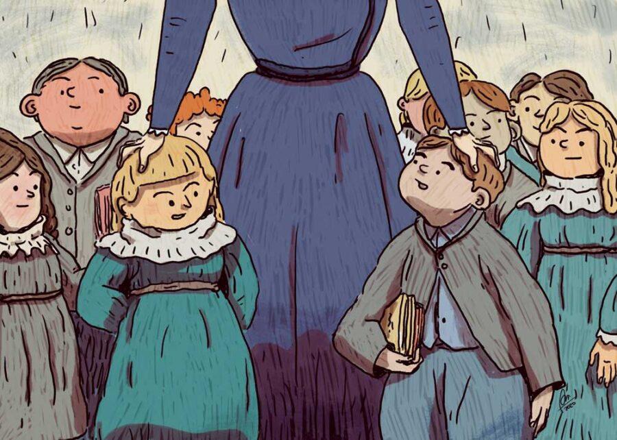 78. Gli scolari (1894)